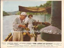 African Queen, Original Movie Still, Humphrey Bogart, Karine Hepburn, '51